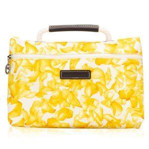 Longchamp Darshan Yellow Floral Pochette